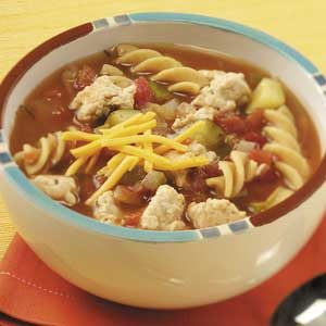 Zesty Turkey Tomato Soup