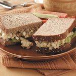 Bacon and Egg Salad Sandwich