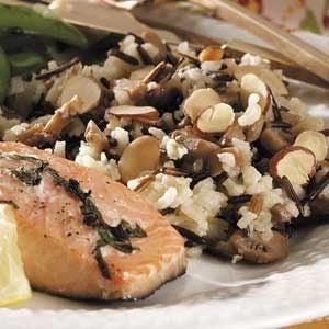 Baked Mushroom Rice Pilaf