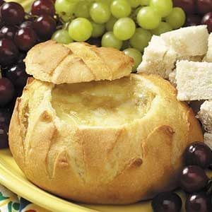 Baked Brie with Roasted Garlic