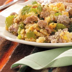 Calico Corn Bread Dressing