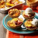Grilled Peach Sundaes