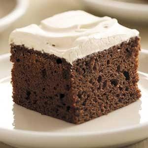 Frosted Mocha Cake