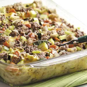 Makeover Zucchini Supper
