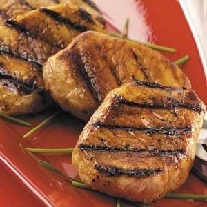 Honey-Soy Pork Chops