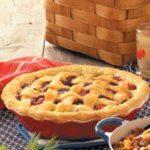 Cherry-Berry Peach Pie