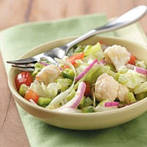 Easy Italian Tossed Salad