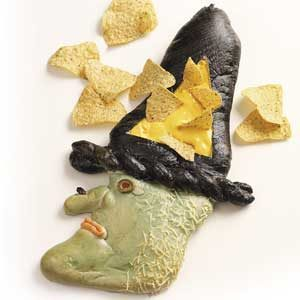 Chip 'n' Dip Bread Witch