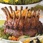 Glazed Pork Crown Roast