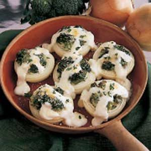 Broccoli-Stuffed Onions