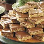 Glazed Peanut Butter Bars