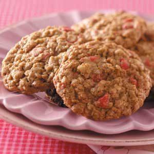 Cherry Oatmeal Cookies