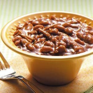 Slow-Cooked Pork and Beans