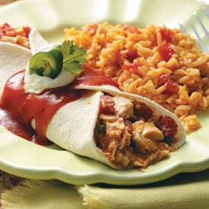 Taco Chicken Wraps