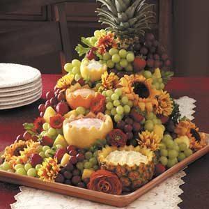 Cascading Fruit Centerpiece