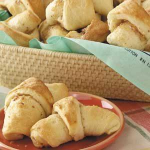 Almond-Filled Butterhorns