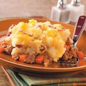 Potato-Topped Chicken Casserole
