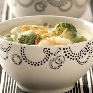 Easy Cheese Broccoli Soup
