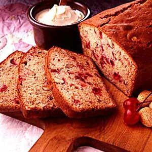 Cherry/Almond Quick Bread