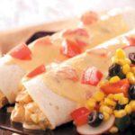 Cheese and Chicken Enchiladas