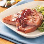 Pineapple Cranberry Ham