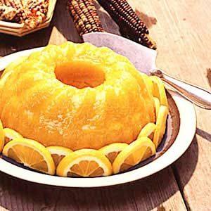 Golden Lemon Cake