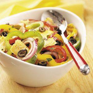 Pretty Pepper Salad