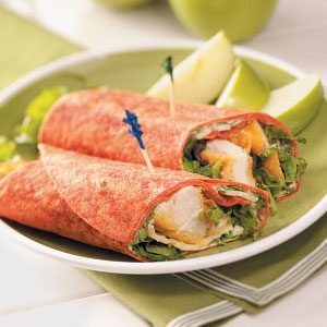 Chicken Tender Wraps Recipe How To Make It Taste Of Home