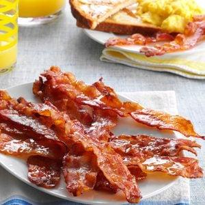 Easy Glazed Bacon