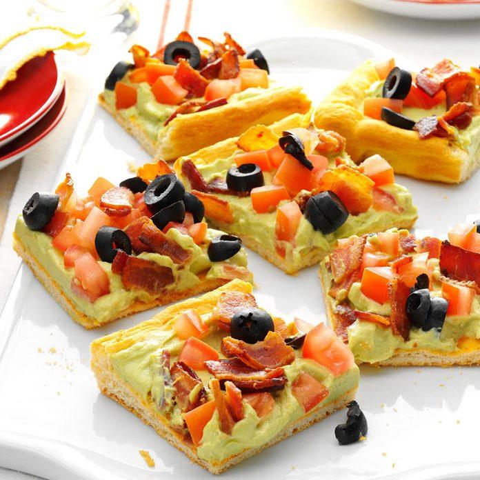 Guacamole Appetizer Squares