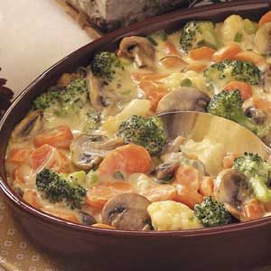 Baked Vegetable Medley