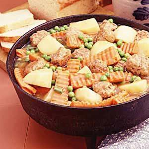 Meatball Garden Stew