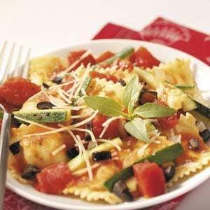 Veggie Cheese Ravioli