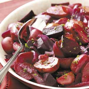 Can't-Be-Beet Roasted Potato Salad