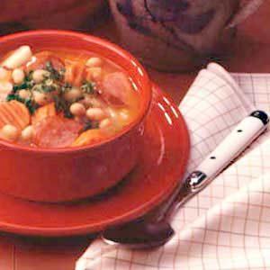 Favorite Kielbasa Bean Soup