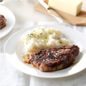 Sweet and Spicy Pork Chops
