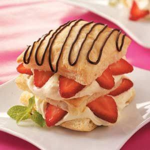 Easy Strawberry Napoleons