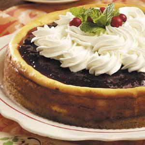 Festive White Chocolate Cheesecake