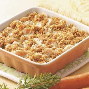 Carrot Casserole for Three