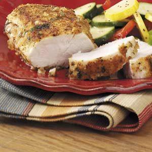 Tarragon-Crusted Chicken