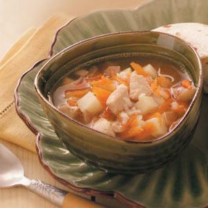 Chilly-Day Chicken Soup