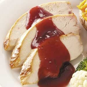 Cranberry-Glazed Turkey Breast