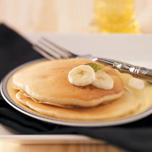 Breakfast Banana Pancakes