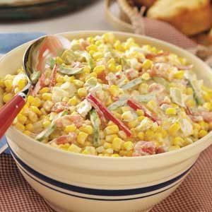 Creamy Corn Salad