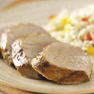 Grilled Ginger Pork Tenderloin
