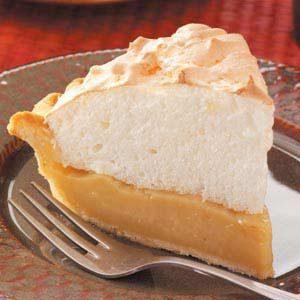 Maple Cream Meringue Pie