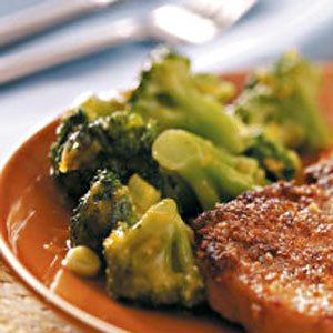 Orange-Glazed Broccoli