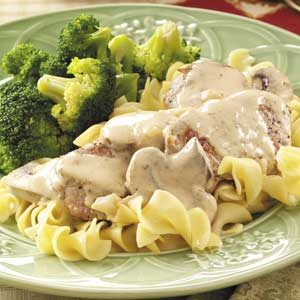 Honey-Dijon Pork Tenderloin with Mushrooms