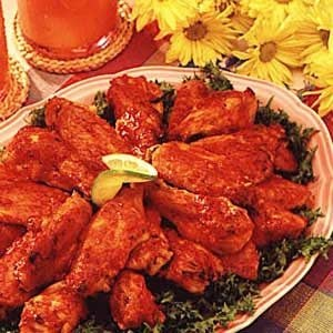 Baked Spicy Chicken Wings