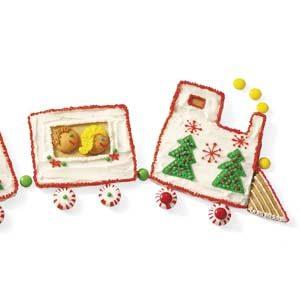 Christmas Cookie Train